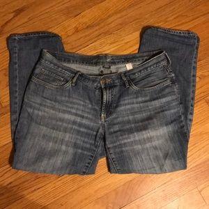 Eddie Bauer boyfriend ankle jeans - size 6